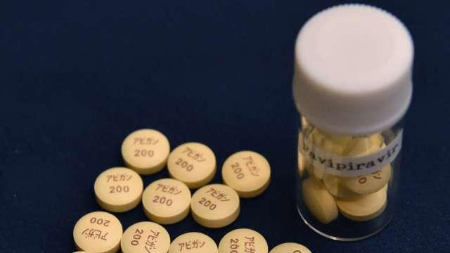 「法匹拉韋」申請作為新冠肺炎治療用藥 週五富士軟片股價上揚 (圖片:AFP)