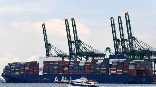 新加坡9月出口年增5.9% 增幅低於市場預期(圖片:AFP)