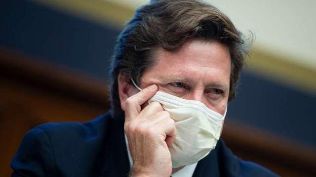圖為美國證管會(SEC)主席Jay Clayton (圖:AFP)