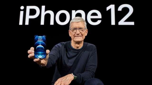 傳京東方年底前開始供應iPhone 12面板(圖片:AFP)