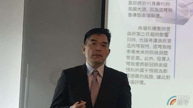 花旗(台灣)銀行財富策劃諮詢部資深副總裁曾慶瑞。(鉅亨網記者郭幸宜攝)