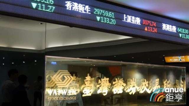 台股量縮價跌 全體券商9月獲利大減55%。(鉅亨網資料照)