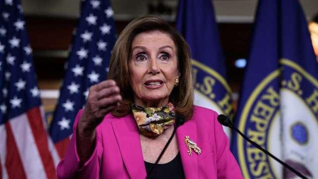 週二達成新刺激法案協議?佩洛西:我很樂觀 (圖片:AFP)