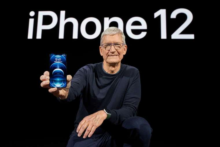 iPhone12 掀換機超級周期的可能性越來越大。(圖片:蘋果)