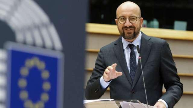 歐洲理事會主席:英國需做出主權選擇 並打破談判僵局 (圖:AFP)