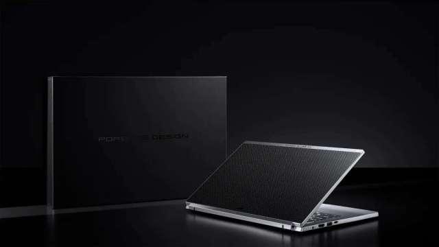 宏碁跨界攜手保時捷設計推新系列筆電,搶攻高階市場。(圖:宏碁提供)