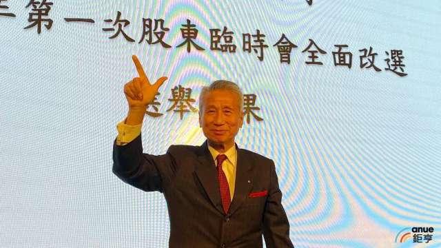 三圓建設董事長王光祥。(鉅亨網記者沈筱禎攝)