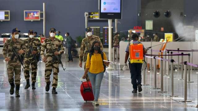 印度宣布恢復多數現有簽證 允許海外人士入境 旅遊除外 (圖:AFP)