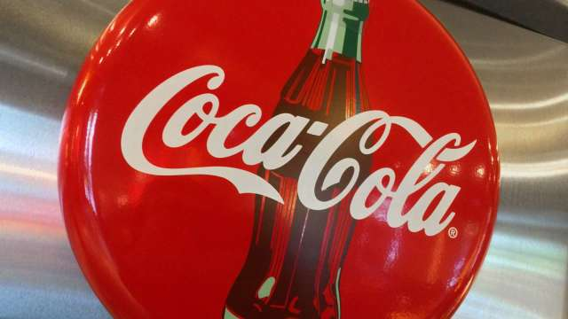 可口可樂Q3營收好於預期 盤前股價漲逾2%(圖片:AFP)