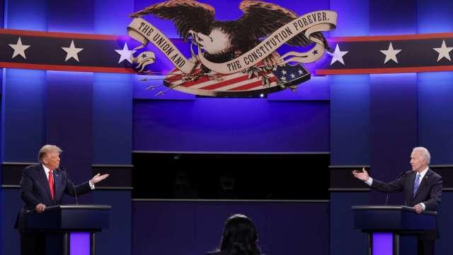 最後辯論無法扭轉局勢!華爾街:川普幾乎不可連任 (圖片:AFP)
