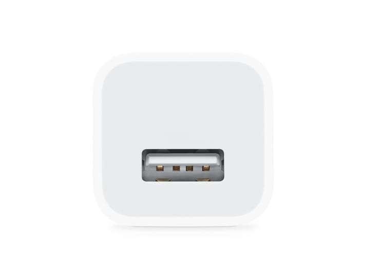 蘋果舊款充電頭 5 瓦特,USB 接口