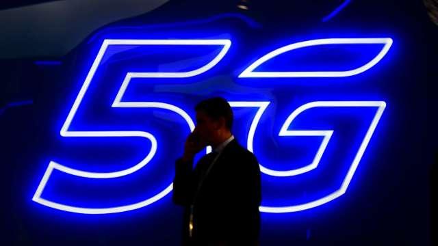 英國政府排除華為設備 宣布與NEC在5G領域合作 (圖片:AFP)