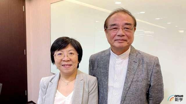 左為台灣醣聯總經理楊玫君、右為董事長張東玄。(鉅亨網記者沈筱禎攝)