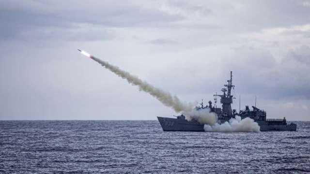 美再批准對台軍售案 魚叉反艦飛彈價值23.7億美元 (圖:AFP)