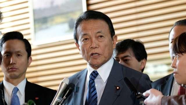 日本有意設立金融特區 計畫取代香港地位 (圖片:AFP)