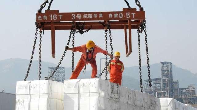 中國工業9月企業利潤增速回落 復甦出現阻礙(圖:AFP)