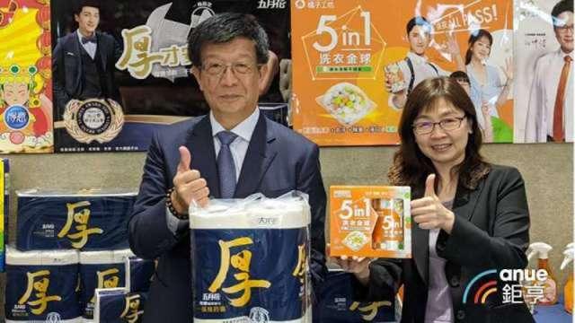 永豐實總經理徐志宏(左)、財務長暨發言人陳佩雯(右)。(鉅亨網資料照)