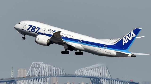 〈財報〉日本ANA預估全年出現5100億日圓淨損 國際航線業績嚴苛 (圖片:AFP)