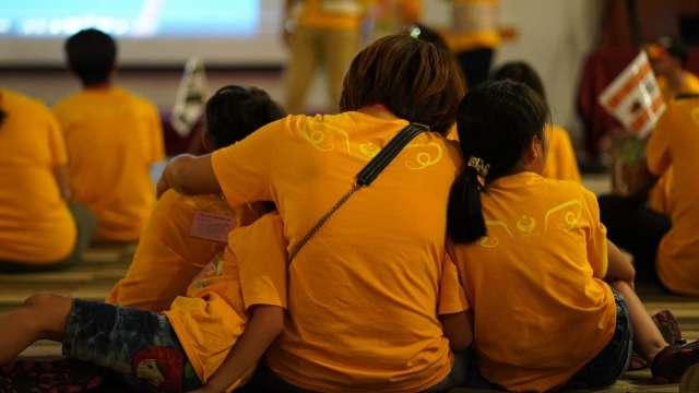 天使心家族基金會 喚醒父母「看見自己」。(圖:天使心家族基金會提供)