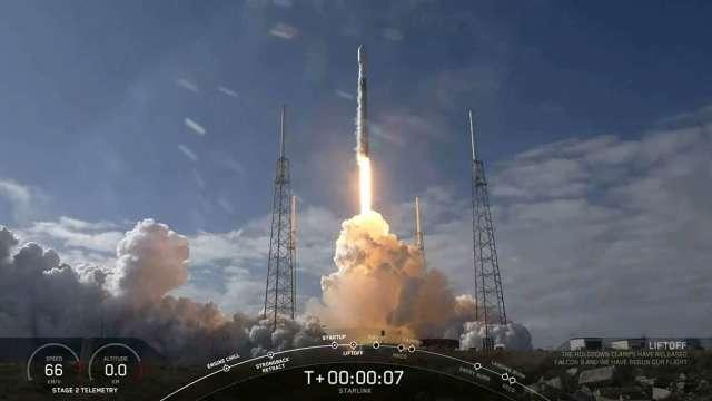 SpaceX衛星網路服務「Starlink」定價每月99美元 開始公測!(圖片:AFP)