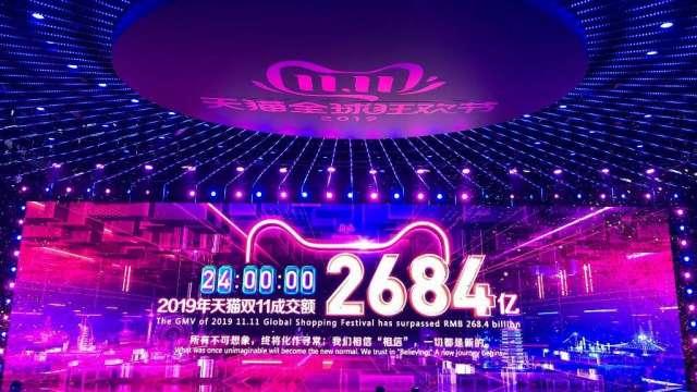 「雙11」調查:中國消費者打算擴大支出 但減少購買美國產品(圖:AFP)