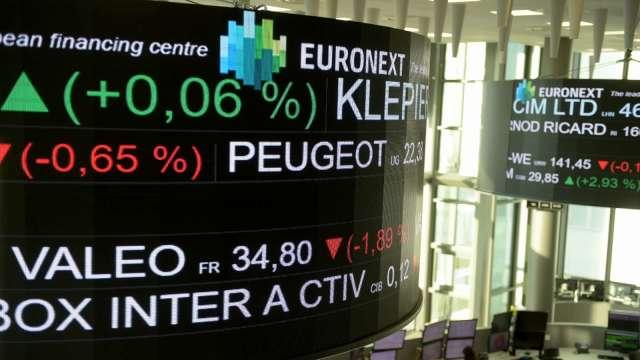 憂疫情重燃導致二度封鎖 歐股跌至近五個月低點 (圖:AFP)