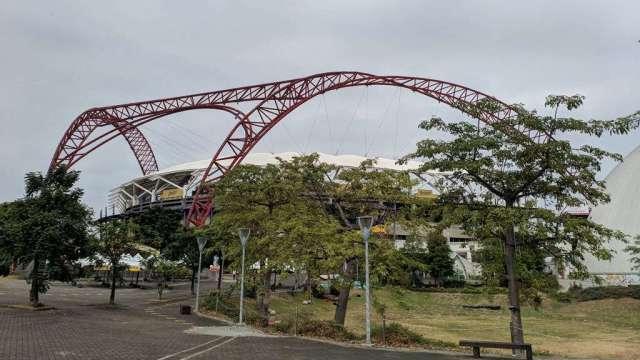 台中洲際棒球場。 (圖:台灣房屋集團趨勢中心提供)