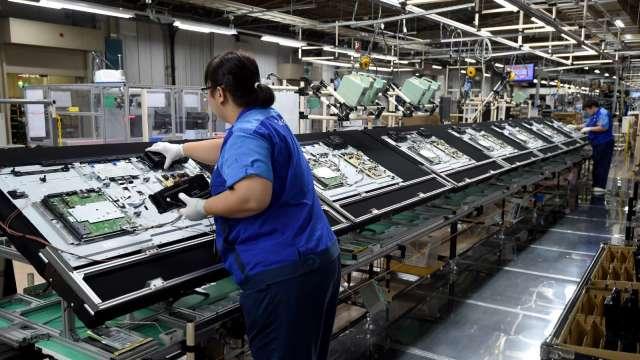 韓廠暫緩LCD關廠計劃,對面板供需市場影響有限。(圖:AFP)