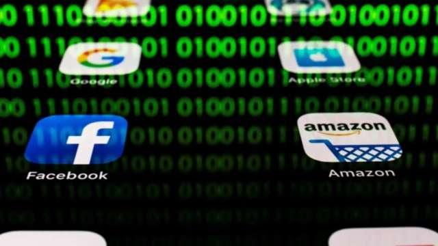 公布保守財測後引發一波小拋售潮 科技巨頭僅谷歌獨秀漲近7%  (圖:AFP)