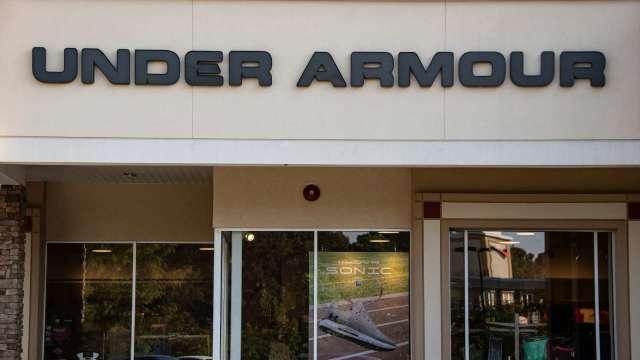 〈財報〉Under Armour Q3營收獲利優預期 將出售MyFitnessPal  (圖:AFP)
