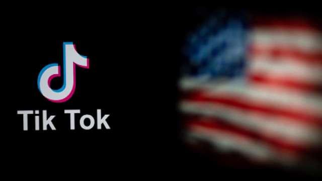 最新!美法院下令暫緩執行 11/12 TikTok 禁令。(圖片:AFP)