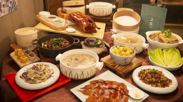 漢來美食新推出「上菜 片皮鴨專賣店」。(圖:漢來美食提供)