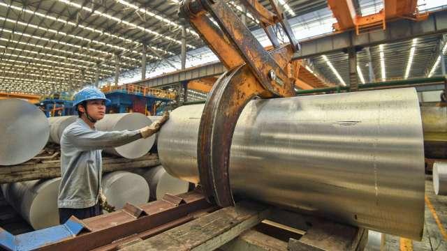 美對18國鋁捲板反傾銷 本季已醞釀漲價 大成鋼成最大受惠。(圖:AFP)
