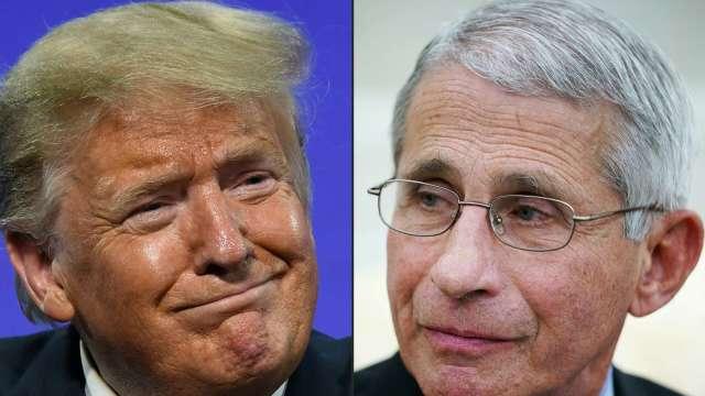 佛州支持者高呼「開除佛奇」 川普暗示選後處理 (圖:AFP)