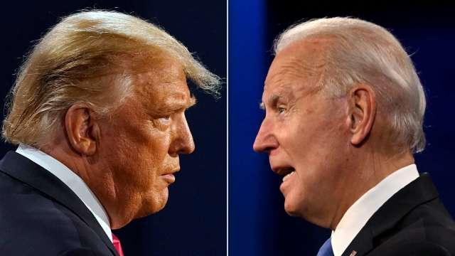 華爾街:大選夜後美股可能的贏家與輸家。(圖片:AFP)