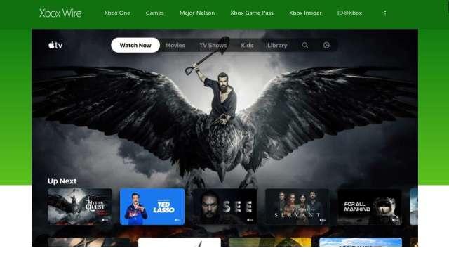 微軟證實:Apple TV下週登陸Xbox one、X系列、S系列主機(圖片:AFP)