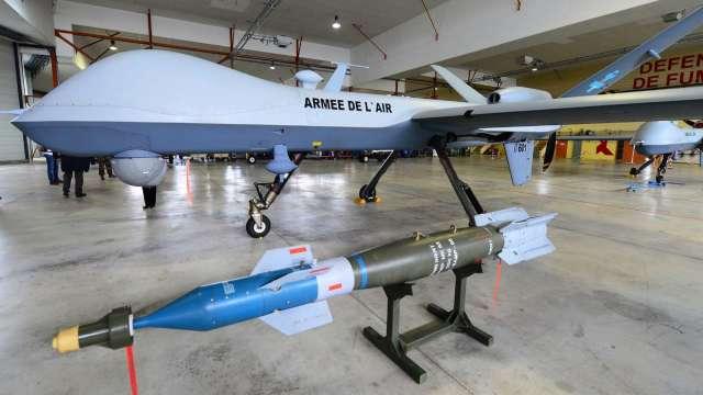 美兩周內三度對台軍售 4架MQ-9B無人機總價173億元。(圖:AFP)