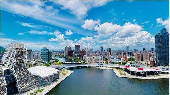 (2-3 房總價 698 萬起就能享有河畔國際生活。圖 / 興富發)