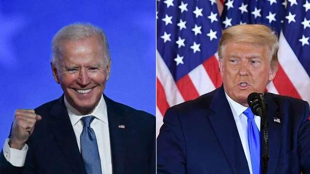 美商界領袖呼籲開票結束前 參選人等要耐住性子 (圖片:AFP)
