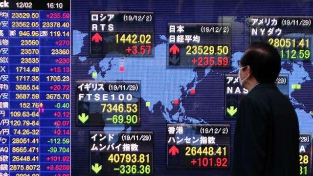 〈日股盤後〉週四日經指數創逾2年來新高 科技類股買盤點火 (圖片:AFP)
