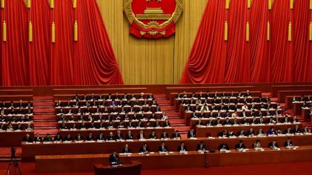 消息來源:中國十四五規劃 GDP成長可能設為5%(圖:AFP)