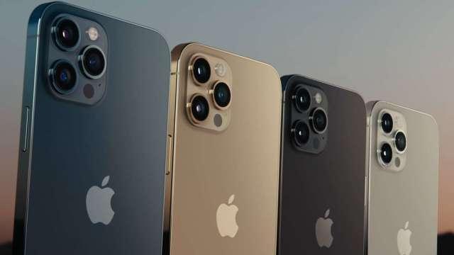 頂規iPhone 12 Pro Max 512G 月繳1899元、綁約4年 才可0元入手。(圖:AFP)