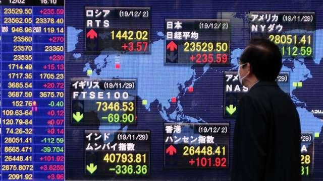 日股早盤飆出近29年新高 日圓走揚 (圖片:AFP)