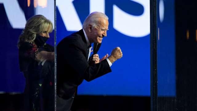 【群益期貨老爹觀點】美國總統大選結果逐漸抵定 拜登如預期勝出。(圖:AFP)