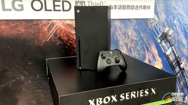 微軟新款Xbox台灣入列首波開賣,供應鏈可望再添動能。(鉅亨網記者劉韋廷攝)