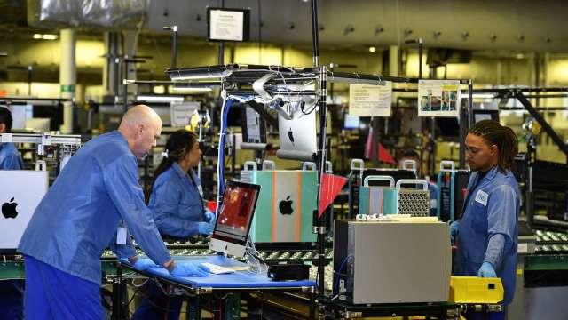 蘋果搭載自研晶片MacBook將問世 或將引爆PC晶片大戰? (圖:AFP)