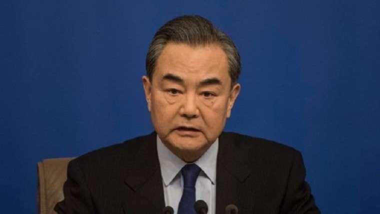 (圖片: AFP) 中國外交部長王毅