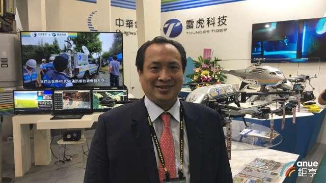 雷虎董事長陳冠如。(鉅亨網資料照)