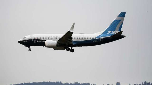 FAA有望近日解除波音737 MAX禁飛令(圖:AFP)