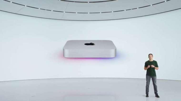 蘋果還發布最小的台式機電腦 Mac mini 更新版本 (圖片:蘋果)
